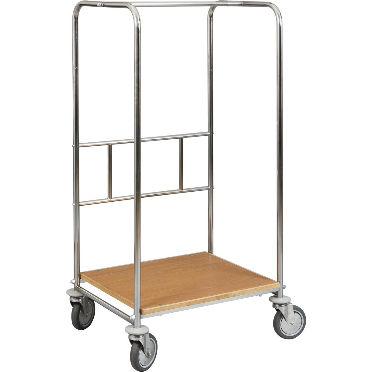 Bella monica carrello porta valigie e vestiti - Porta abiti con ruote ...