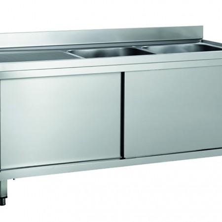 Lavelli-armadiati-closed-sinks-2vasche-bowls-ForcarSteelFurniture